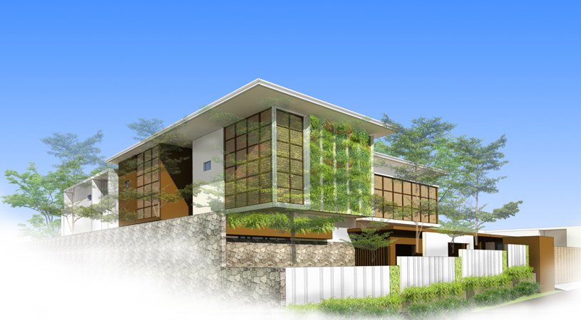 Mr. DF House Kupang building exterior