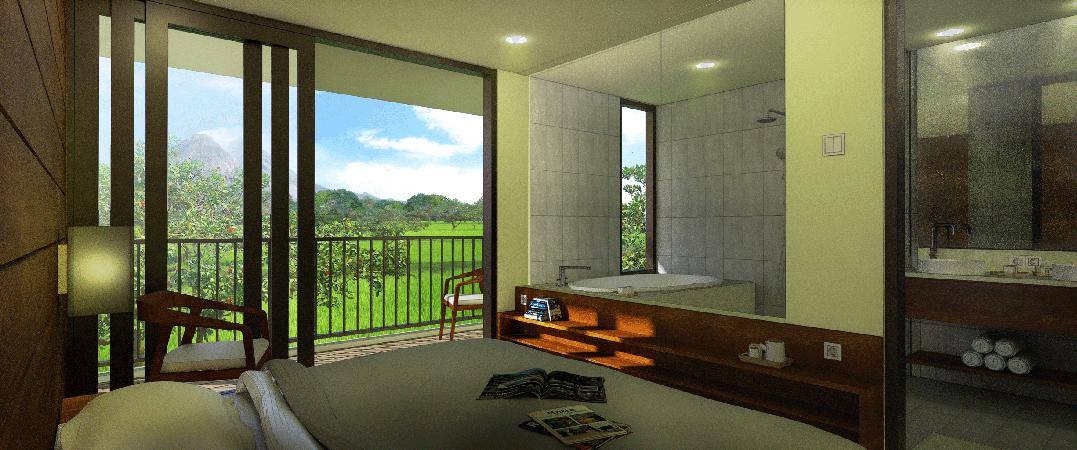 Astani Villas room interior